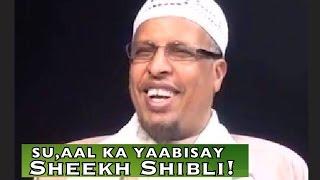 Repeat youtube video Sheekh Maxamud Shibli & Su,aasha KuSaabsan in Dawo loo Cuno - Xubinta Taranka ee Ragga!