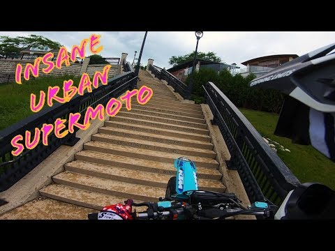 Insane Urban Supermoto Ft. Supermotarded || Supermoto Shenanigans! || 2019