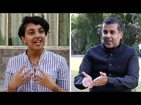 "Chetan Bhagat on his new book ""One Indian Girl"""