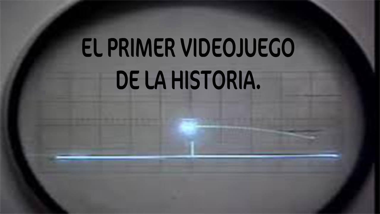 Resultado de imagen de primer videojuego