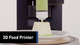 Scientists Are Developing A 3D Printer For Food