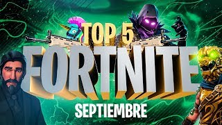 """TOP 5 FORTNITE - """"Pisos Picados es mi barrio"""" - SEPTIEMBRE"""