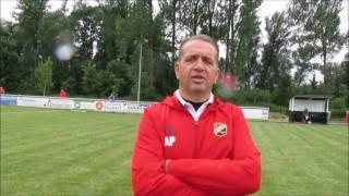 01.07.2017, Fussball-Harz TV, Interview mit Andreas Petersen, Trainer VfB Germania Halberstadt