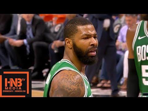 Boston Celtics vs Orlando Magic 1st Half Highlights / March 16 / 2017-18 NBA Season