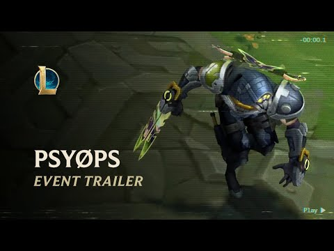 PsyOps 2020 | Official Event Trailer - League of Legends