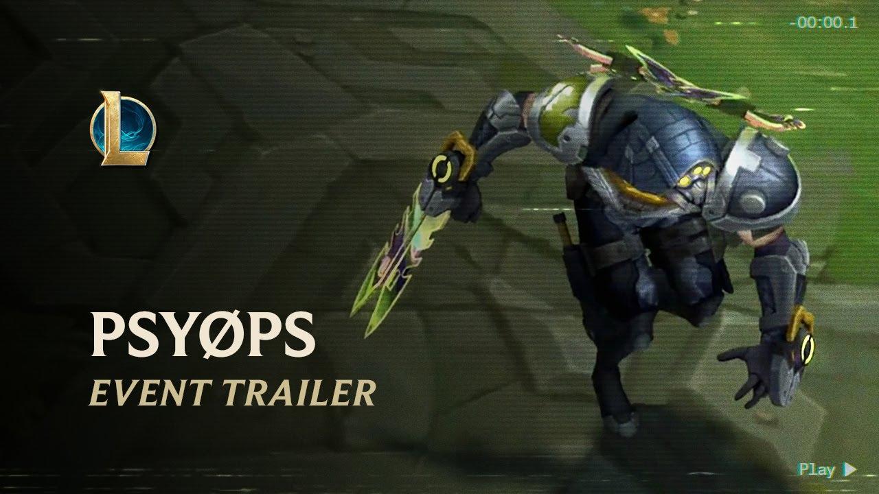 PsyOps 2020   Official Event Trailer - League of Legends