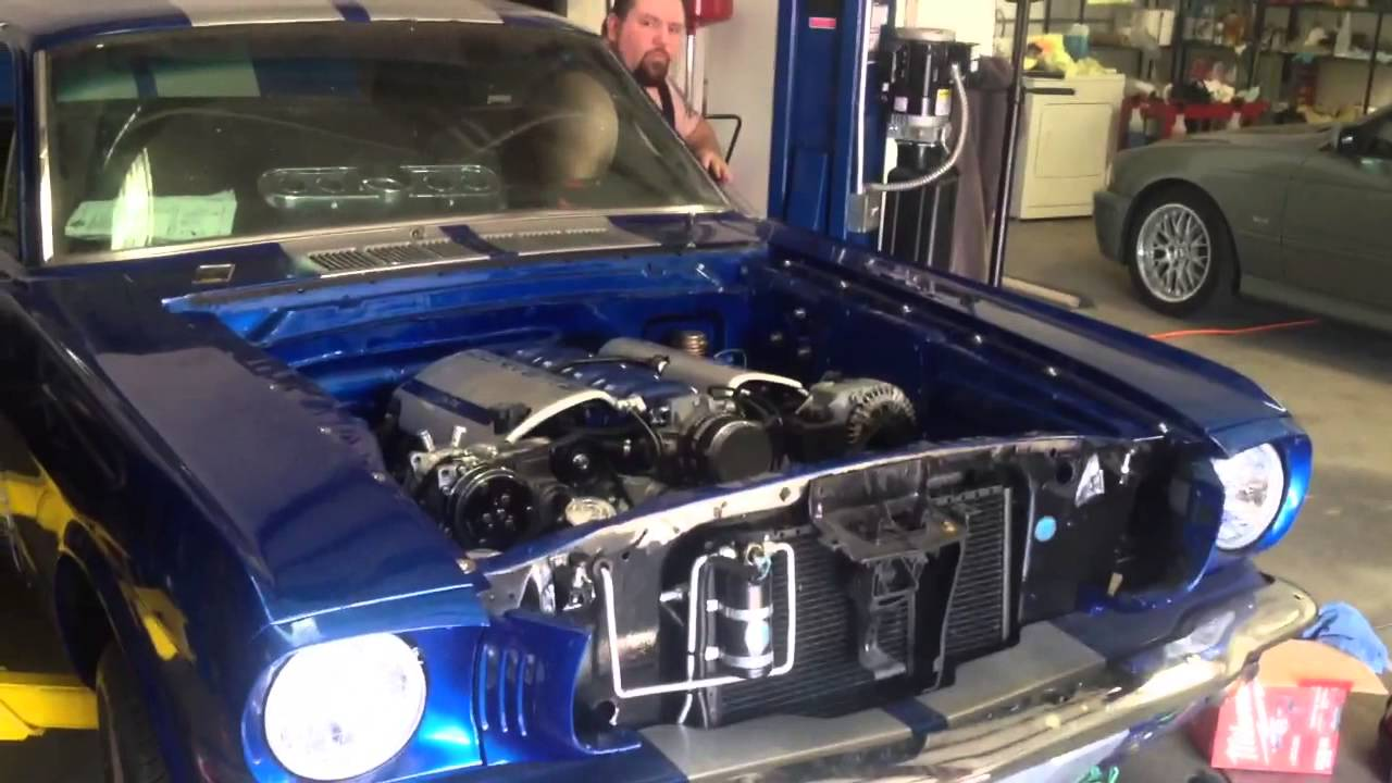 1965 Ford Mustang Ls Swap