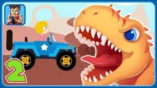 Динозавры и машинки * Мультик игра для детей - часть 2 * Jurassic Dig - Dinosaur Simulator Games