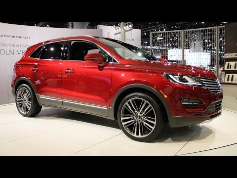2015 Lincoln MKC - new luxury SUV