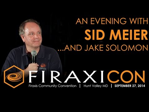 Firaxicon: An Evening with Sid Meier and Jake Solomon of Fir