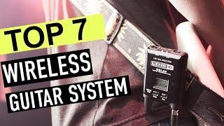 BEST 7: Wireless Guitar System 2018