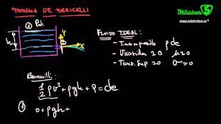 PRINCIPIO DE TORRICELLI: FÍSICA FLUIDOS 8