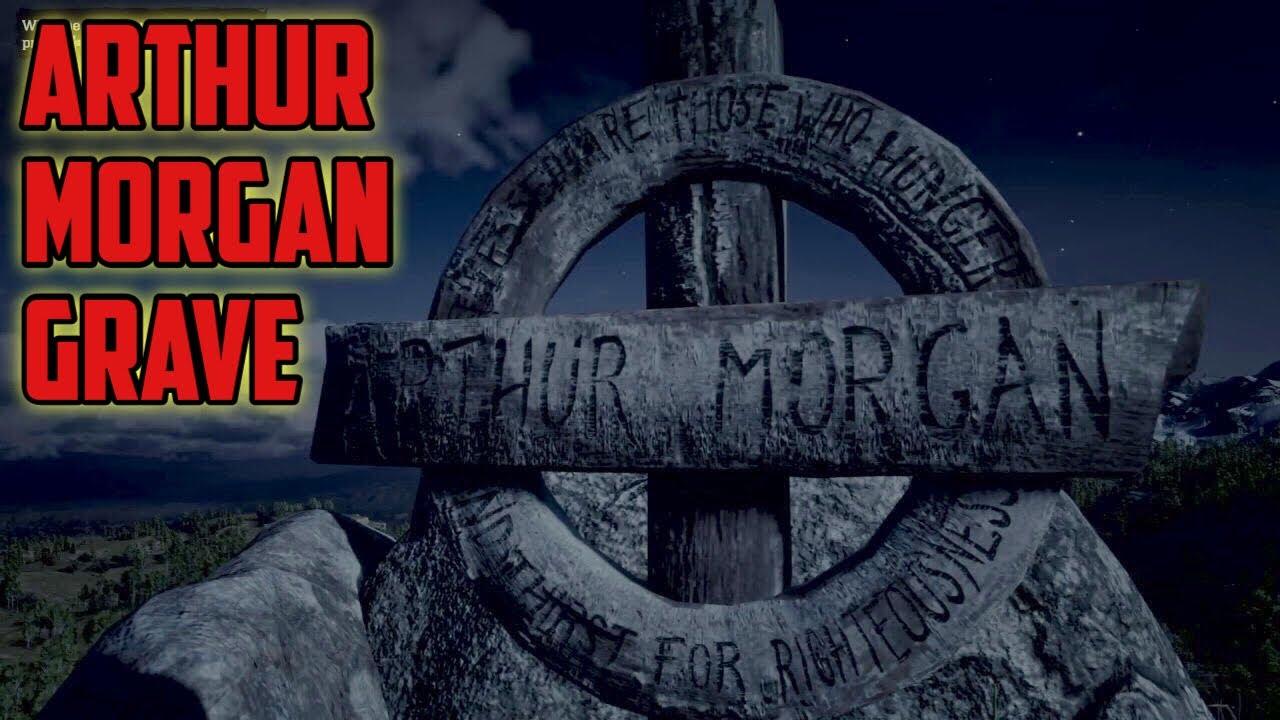 red dead redemption 2 arthur morgan grave location youtube