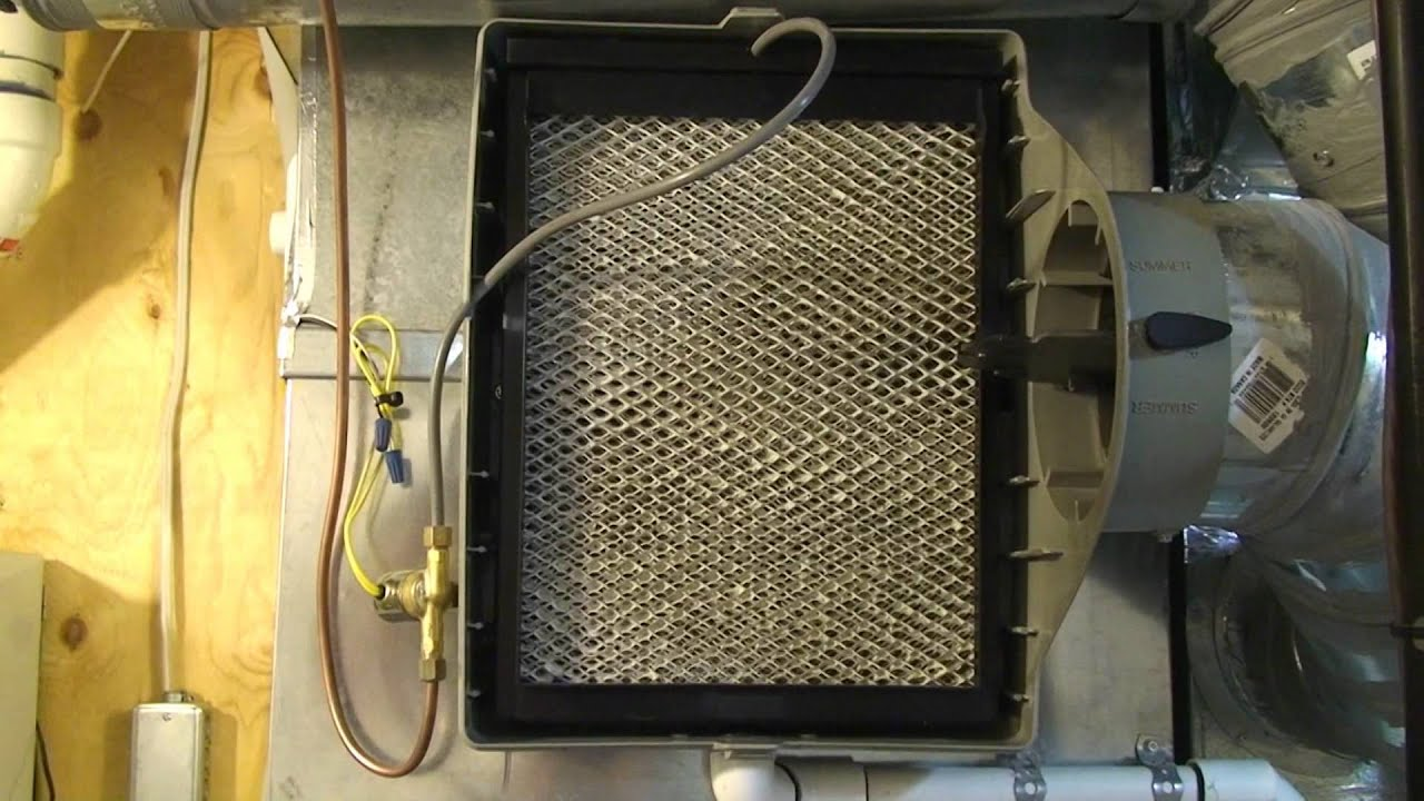 Trane 300 Flowthrough Bipass Humidifier Acclaimed! Frunace Edmonton  #A88D23