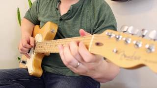 Elixir Optiweb Strings Tone Video Fender Telecaster