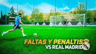 PARADAS INCREIBLES CON LOS JUGADORES DEL REAL MADRID!!