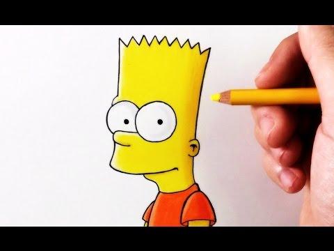 DIBUFÁCIL | Aprende a Dibujar a Bart Simpson paso a paso | ArteMaster