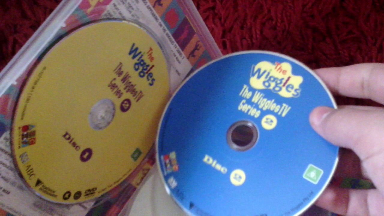 The Wiggles TV Series 2 DVD 4 Disc Set