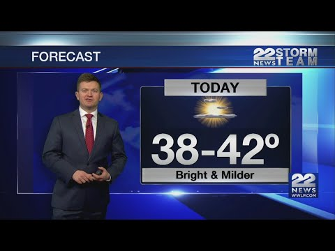 Wednesday Morning Video Forecast 12/19/2018