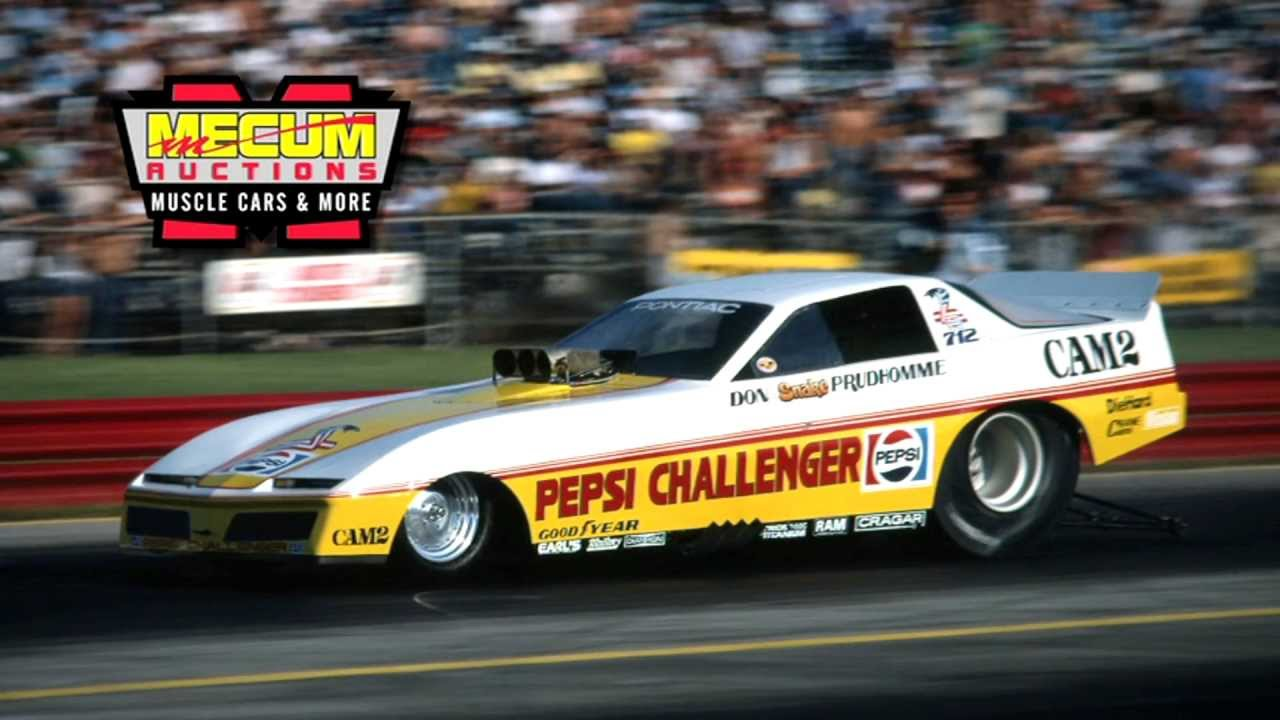 Free Car History Report >> Don Prudhomme's Pepsi Challenger Available at Indy 2012 ...