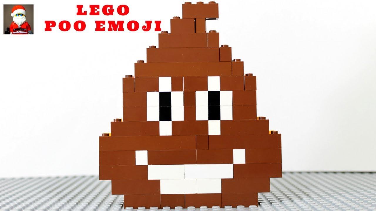 How to Build LEGO Poo Emoji - YouTube