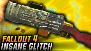 Fallout 4 Glitches - INSANE CREATE & MOD ANY WEAPONS GLITCH! (PS4/XB1 Create Weapons Glitch)