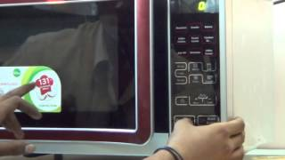 How to use LG Microwave Oven