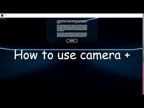Camera Plus Basic tutorial [Beat Saber]