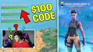 "I put Real ""Free V Bucks Codes"" in my Fortnite IGN.. (FUNNIEST REACTION YET)"