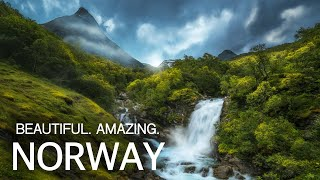 Сказочная природа Норвегии с высоты 4K | The nature of Norway from a height of 4K