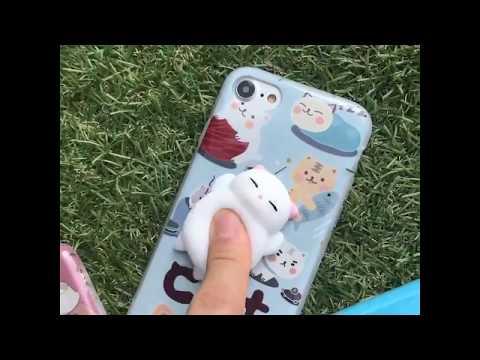 Squishy 3D Cat IPhone Case | FLASH SALE| Toys for Children