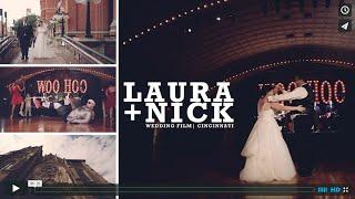 Laura and Nick | Cincinnati Wedding Video