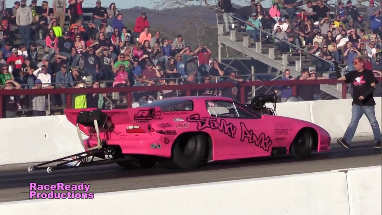 Street Outlaws at Mountain Park Dragway in Clay City KY 4/08/2017 vcm