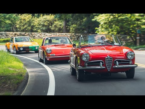 2019 Road & Track Rally to the Greenwich Concours