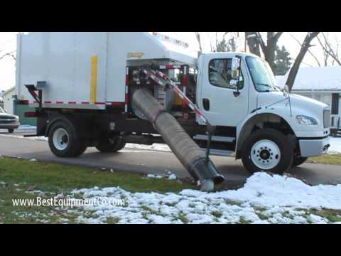 XTreme Vac Truck Mount Leaf Collection