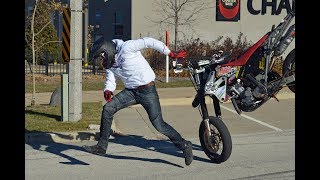 ⚡️ EPIC FAILS! Supermoto & Enduro CRASHES & FUNNY Moments! 💀 | Supermoto Shenanigans! | 2018