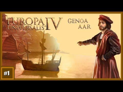 Europa Universalis 4 - Genoa (Video AAR - Mandate of heaven) [E01] |