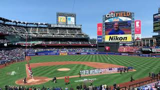 New York Mets 2019 Opening Day Ceremonies (Including Lineups/Intro [vs. Washington Nationals])
