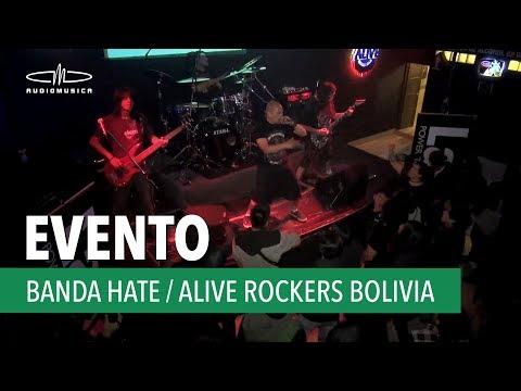 Banda HATE | en Alive Rockers Bolivia