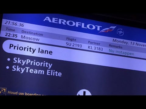 Flight Report: Aeroflot A321 Amsterdam - Moscow (SVO)