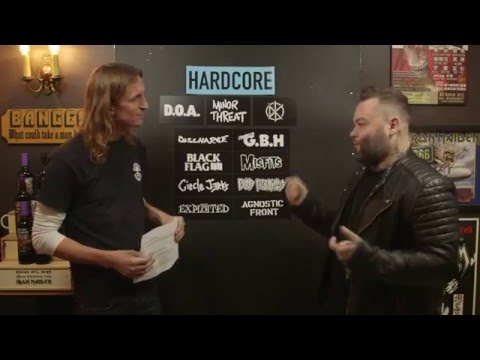 LOCK HORNS| HARDCORE bands debate with Wade MacNeil from alexisonfire/Gallows (live stream archive)