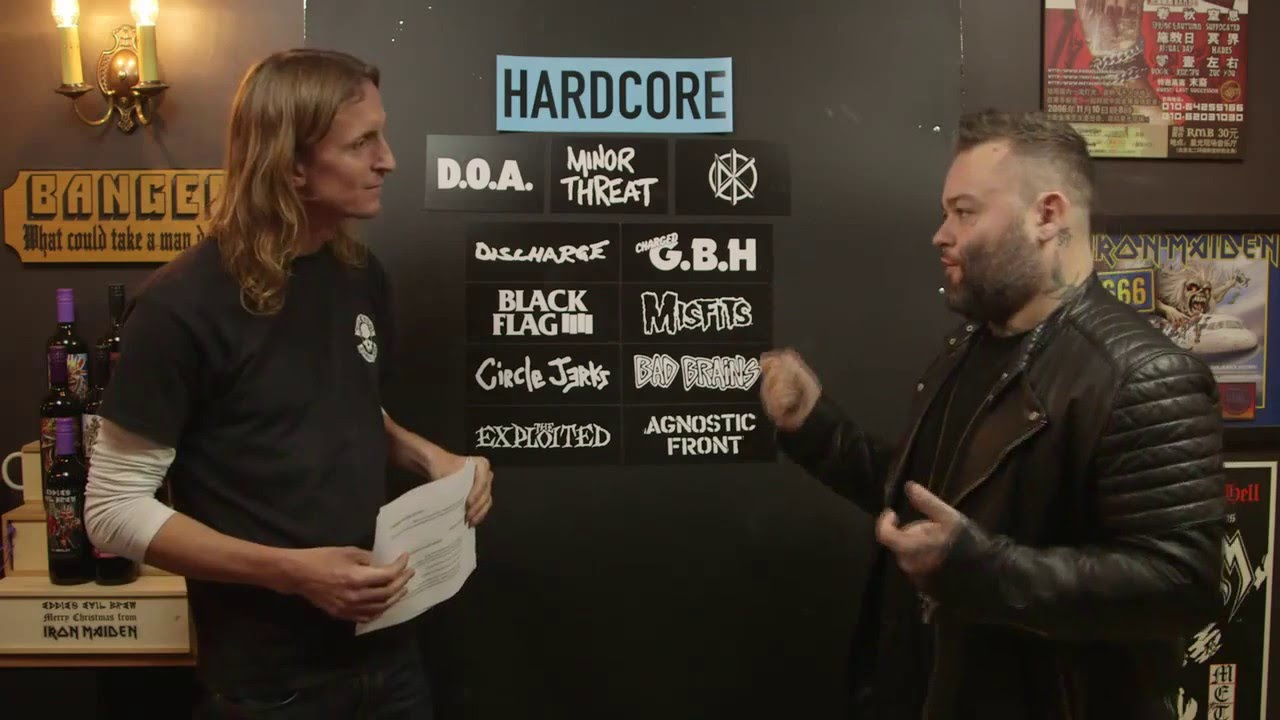 HARDCORE bands debate with Wade MacNeil from alexisonfire/Gallows | LOCK HORNS episode thumbnail