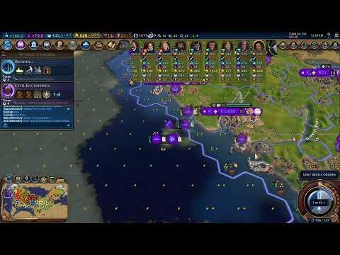 Civilization VI GS 6vs6