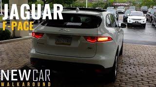 2017 Jaguar F-PACE In Depth Walkaround ,Start Up, Interior ,Exterior ,Trunk & Engine