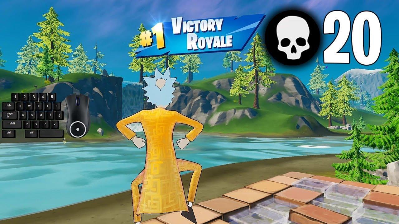 High Elimination Solo Squad Win Season 7 Gameplay Full Game (Fortnite PC Keyboard)