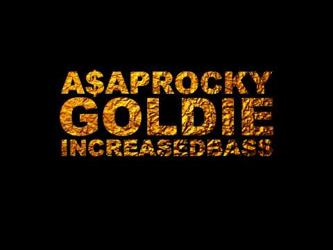 A$AP Rocky  Goldie Bass Boosted