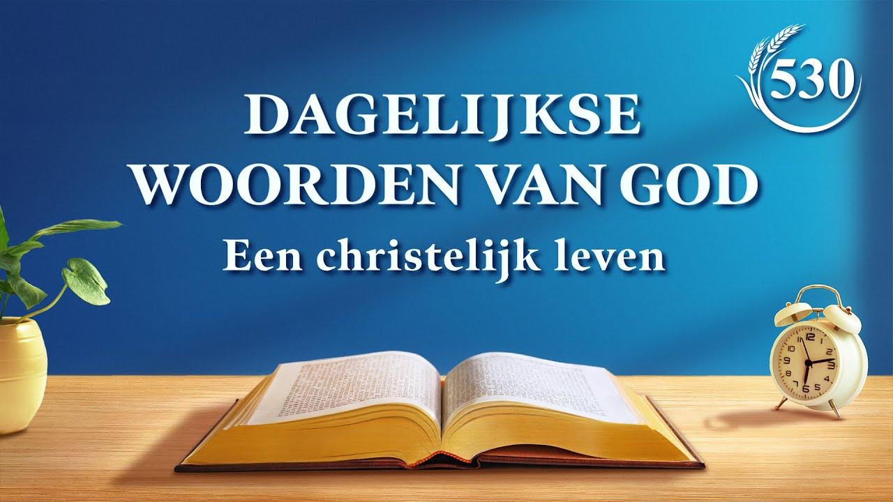 Dagelijkse woorden van God | De ervaringen van Petrus: zijn kennis van tuchtiging en oordeel | Fragment 530