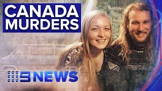 Mystery bearded man seen arguing with murdered Australian and his girlfriend | Nine News Australia