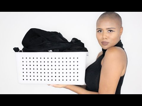 KEEPING YOUR BLACK CLOTHES BLACK | CARING AND WASHING YOUR BLACK CLOTHES