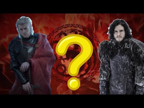 WHY IS JON SNOW DARK HAIRED (Despite being a Targaryen) ? | REASON